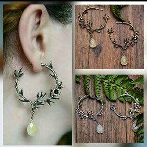 Jewelry - Forest Dangle Earrings, USA Artisan Made
